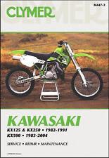 Kawasaki Kx 125 250 500 Kx125 Kx250 Kx500 Clymer Repair Manual M447 (Fits: Kawasaki)