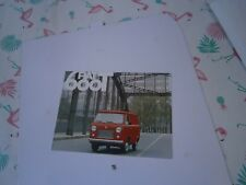Catalogue pub auto voiture prospectus  Fiat 600 T camionnette