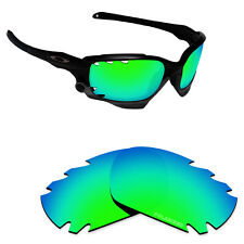 Hawkry SaltWater Proof Green Replacement Lenses for-Oakley Jawbone Vented
