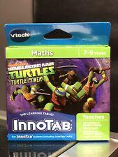 VTECH Innotab Tablet Maths Teenage Mutant Ninja Turtles Game New in Box