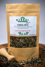 CHILL OUT Herbal Smoking/Herbs for Smoking/ Mullein/Mugwort/Scullcap/Sage