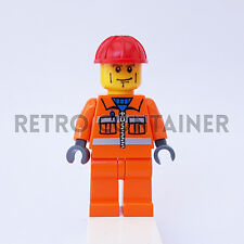 LEGO Minifigures - 1x cty052 - Construction Worker - Omino Minifig Set 5610 5627