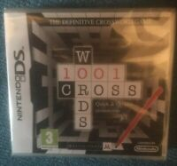 *New and Sealed* - 1001 Crosswords - Nintendo DS - Puzzle Game 3+