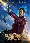 POSTER GUARDIANS OF THE GALAXY STAR LORD GAMORA ROCKET RACOON GROOT DRAX #2