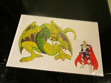 Iron Man Animated Series Cell (Fin Fang Foom & Century) MARVEL ~
