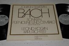 Leonid Kogan 2 LP BACH Sonatas for Violin & Harpsichord Stereo ED1 Karl Richter