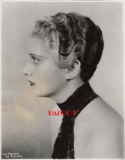 "KAY FRANCIS Vintage Original Photo 1933 ""HOUSE ON 56th STREET"" Pre-Code Portrait"