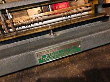 Honig Benchtop Tabular Broaching Machine