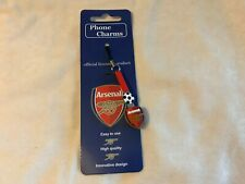 Arsenal  Mobile Phone, Keyring, bag charm. Show your support for your club