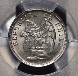 Chile 1938 So 5 Centavos Defiant Andean Condor animal PCGS MS66 PC0477 combine s