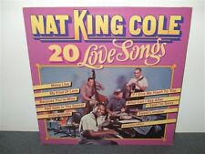 Nat King Cole . 20 Love Songs . Italy Pressing . LP