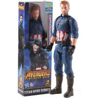 Marvel Avengers Infinity War Titan Hero Series Captain America PVC Action Figure