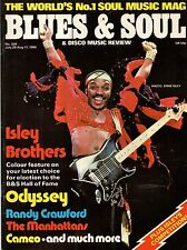 The Isley Brothers Blues & Soul Issue 309 1980   Randy Crawford   Cameo  Odyssey