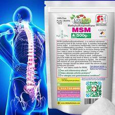 1.1 lb (500g) PURE MSM (METHYLSULFONYLMETHANE) - Pain Relief (Pouch) 40-80 mesh