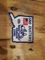 Vintage NOS SNO DUSTERS CT Snowmobile Club Patch 1970s