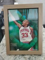 Grant Hill Rookie Jumbo In Frame