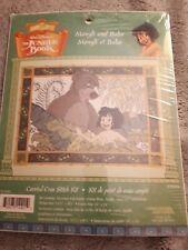 Cross stitch Kit - Walt Disney - The Jungle Book - Mowgli and Baloo