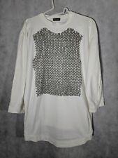 Christopher NEMETH Archive Chainlink Breastplate Crewneck T Shirt Mint L