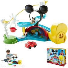 Mickey Mouse Clubhouse Zip, Slide And Zoom Clubhouse Toy Children Play