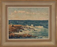 Alfred Gunnar BJAREBY ( Swedish American 1899-1967) signed oil painting 1948