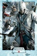 Assassin's Creed Iii: Collage-Maxi Poster 61cm X 91,5 Cm (nuevo Y Sellado)