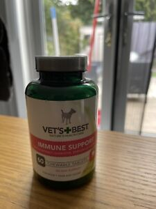 Vets Best Immune Support Supplements for Dogs - 60 Tablets