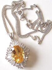 Citrine Silver Vintage Fine Jewellery (1980s)