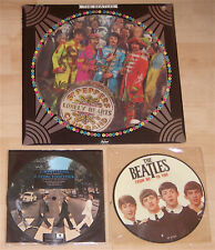"The Beatles ***Vintage Picture Disc Set of 3 (12"" & 7"" Made In UK)"