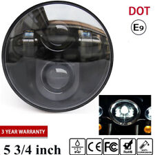 "Black 5 3/4"" LED Projector Headlight For Harley Sportster XL 883 1200 2004-2017"