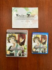 Steins;Gate Limited Edition Artbook + Collectible PS3 PS Vita Game CASE OFFICIAL