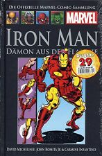 Officiel MARVEL Bande dessinée recueil 29 (1): Iron-Man #1 HC HACHETTE COLLECTION