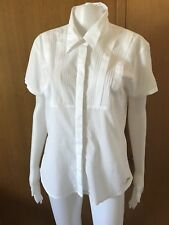 Guess-White Cotton Shirt-Size L