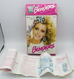 Vintage Clairol Benders Flexible Hot Rollers 1985 With Box Pageant Curls Hair