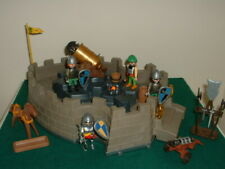 Playmobil Castle With Knights and Accessories Including Toy Shield.