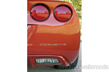 C6 Corvette Rear Bumper/Passenger Dash Lettering Letter Kits