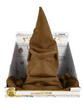 Harry Potter Real Talking Sorting Hat with electronic moving mouth
