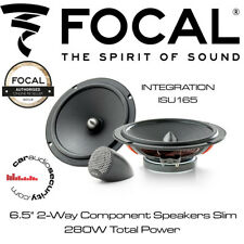 "Focal ISU165 - INTEGRATION 165mm / 6.5"" 2-Way Component Speakers Slim"