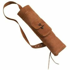 Bear Archery Traditional Bow Equipment Leather Back quiver  AT9BQ