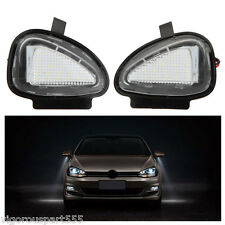 2X LED Under Side Mirror Lamps for VW Golf 6 Cabriolet Passat (B7) Touran New VT