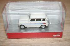 "Herpa 030199 - 1/87 Renault R4 "" Jogging "", Stripes Red/Blue - New"