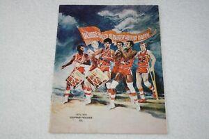 1971 Baltimore Bullets PROGRAM vs Seattle Supersonics * Spencer Haywood * Sonics