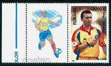 """2001 HAGI,the KING,""""Comandante"""",Famous Football player,Romania,5571,TAB/H-L1,MNH"""