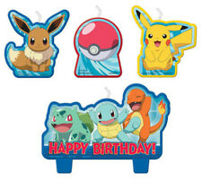 Pokemon Birthday Candle Set Kids Party Supplies Cake Decoration ~ Pokémon Core