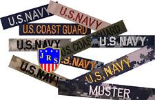 Nametape Namensstreifen US NAVY / US Coast Guard - NWU ODU BDU DCU DBDU OCP ACU