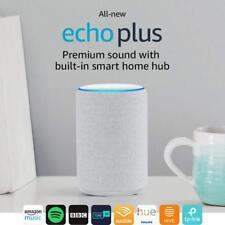 Amazon Echo Plus (2nd Generation) Premium Sound with Built-In Hub - Sandstone