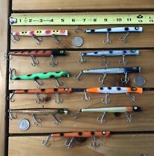 New listing Pencil Plug Fishing Lures Lot of 11