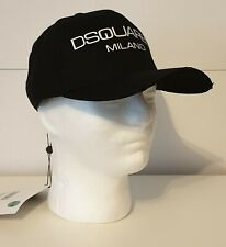 "Neues AngebotDsquared2 Cap Milano ""Neu"" Black 100% original"