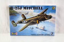 Revell Model Kit #85-5512 B-25J Mitchell Plane WWII