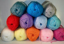King Cole Pricewise DK Knitting Wool Yarn 100g balls 100% Acrylic 11 Colours