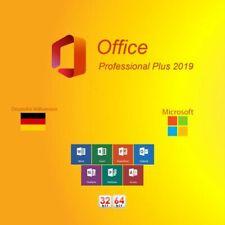Microsoft Office Professional Plus 2019 DVD 32 + 64 Bit +Key